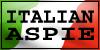 Italian Aspie Stamp by DarkMetaller