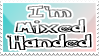 Mixed handed stamp by DarkMetaller