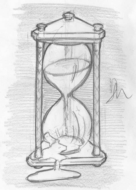 Broken hourglass by DarkMetaller on DeviantArt