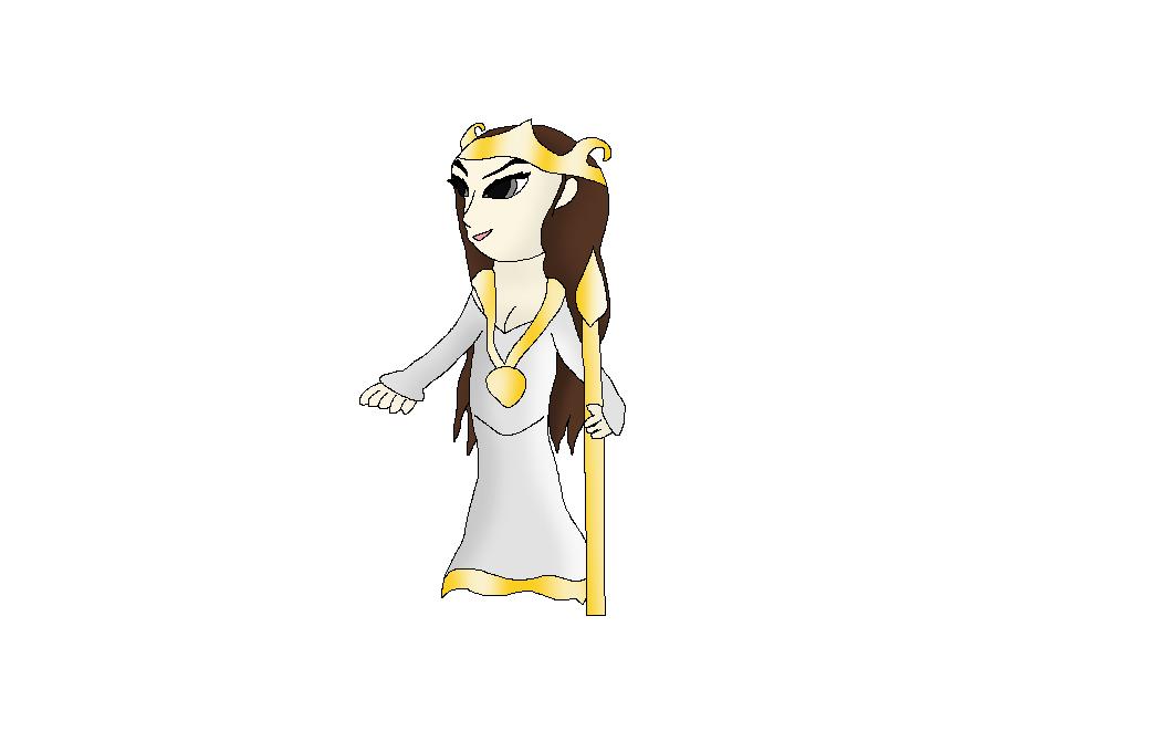 Athena- Goddess of War by SnowDragoness
