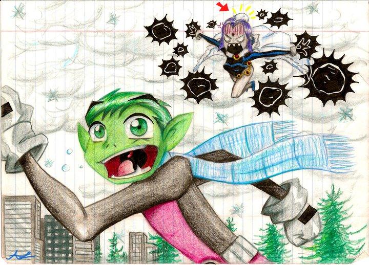 Teen Titan Winter by AshyMashy