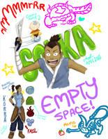 Sokka sketchdump by AshyMashy