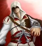 Ezio Auditore - ACII by guerreroOmega