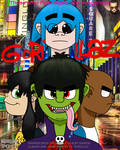 Gorillaz Movie  by LoloHeartWolf