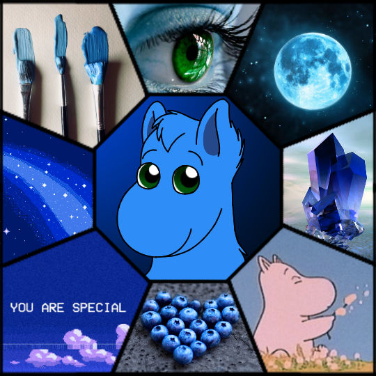 Once In a Blue Moom