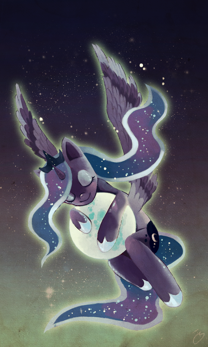 Princess Luna - Good Lunight! by fffiesta