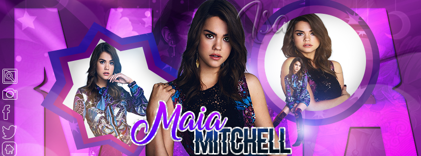MAIA MITCHELL PORTADA BY ISA by vale-zenere