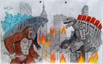 Godzilla and Kong against Mecha G