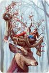 Horn nest