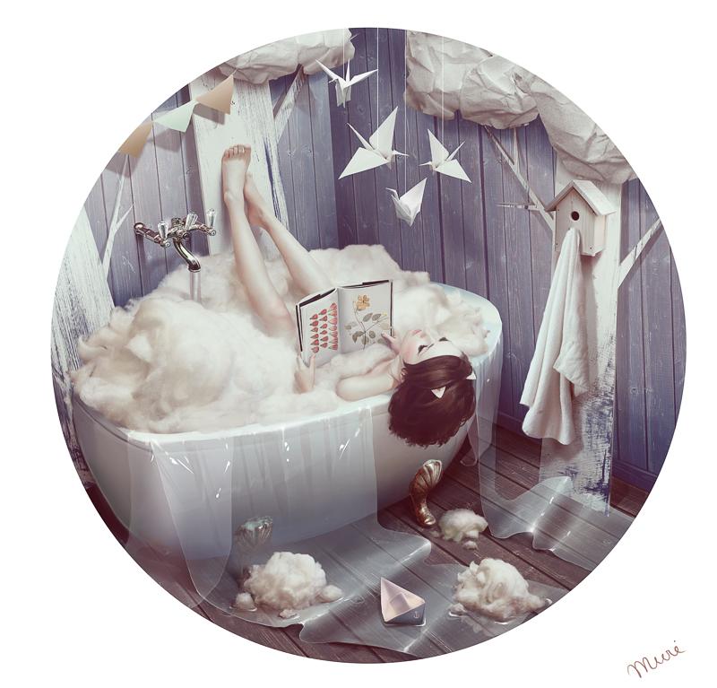 Bath by kidy-kat