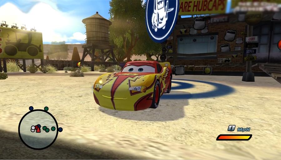 diseny pixar cars ps3 screenshot 3 by thedevingreat on. Black Bedroom Furniture Sets. Home Design Ideas
