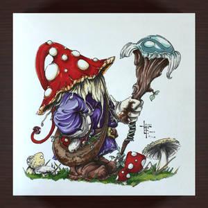 Mushroom Wizard