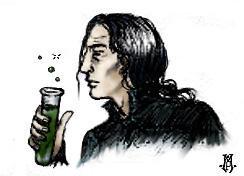 Professor Snape by erlondeiel