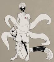 Tokyo Ghoul x Q by xerobeats