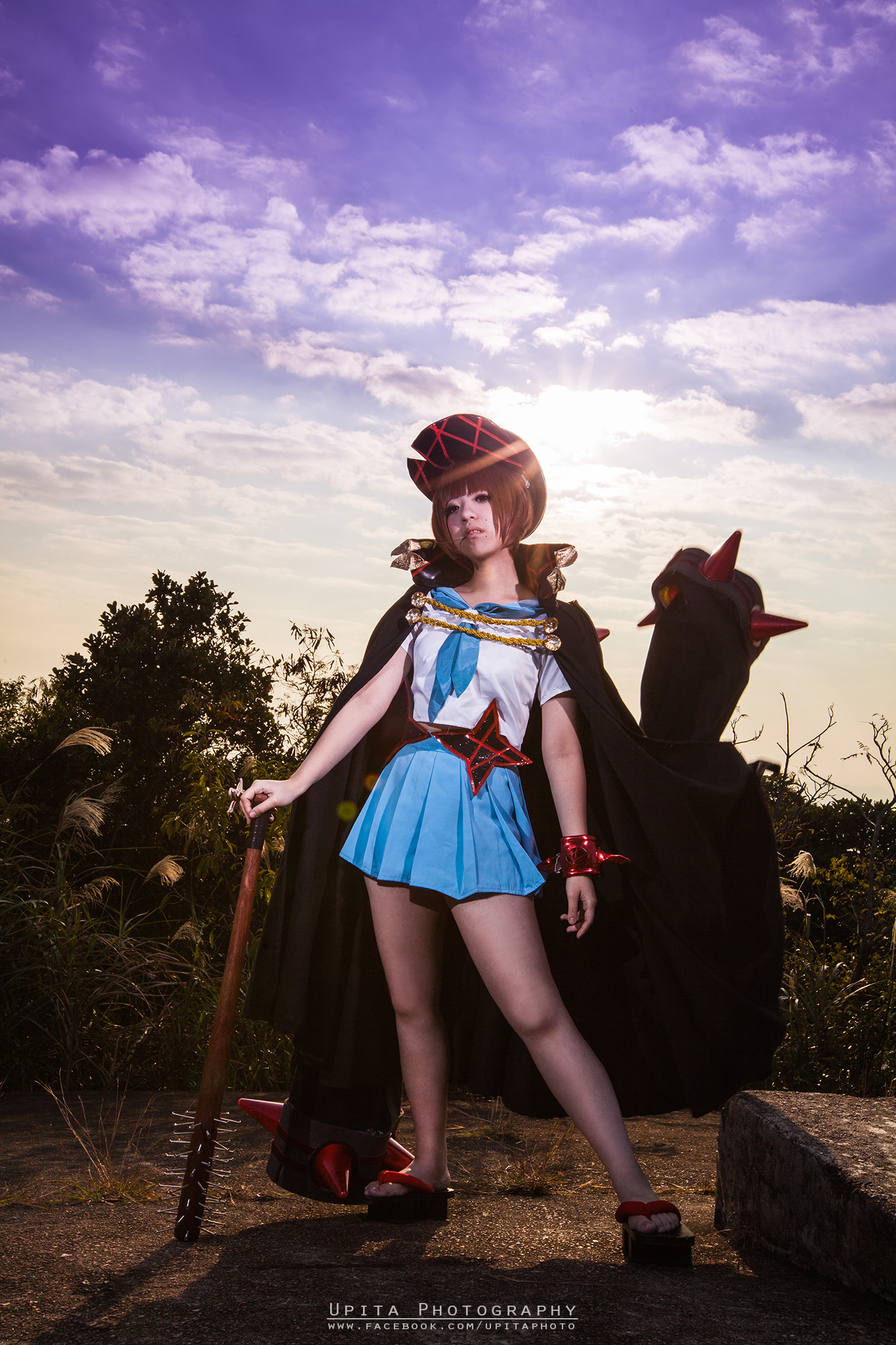 cosplay kill la kill by upita photography people portraits cosplay    Mako Mankanshoku Fight Club Cosplay