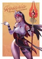 Rosaria Genshin Impact Fan Art