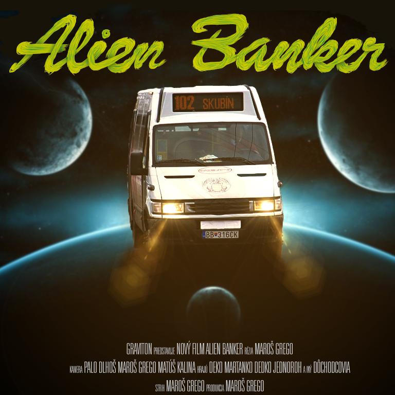 Alien Banker Cover by GravitonArts
