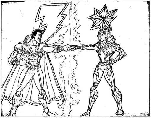 SHAZAM! Captain Marvel moives Fanart
