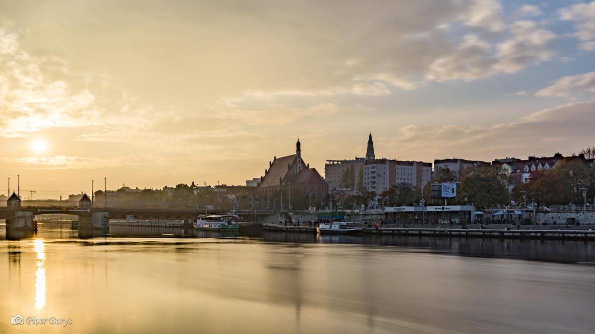 Wet sunset by utak3r