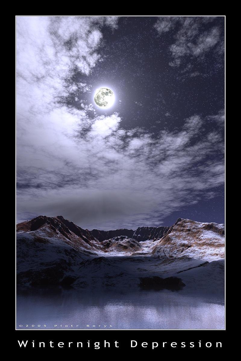 Winternight Depression by utak3r