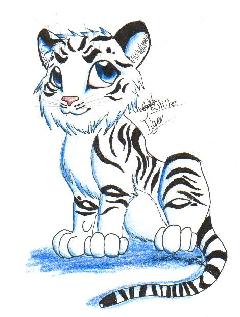 :cute tiger: by shadowundergroundgoh on DeviantArt