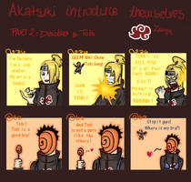 Akatsuki: Deidara and Tobi by zaloguj