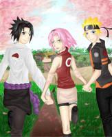 Naruto: Team 7 by zaloguj