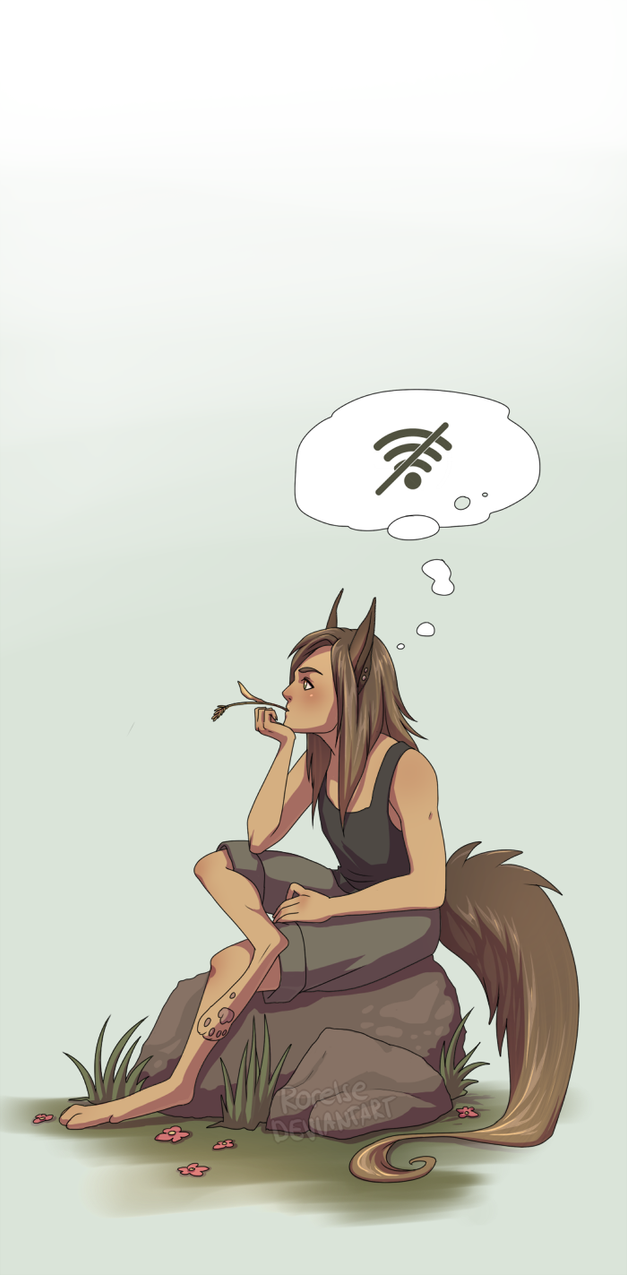 No Internet by Rorelse