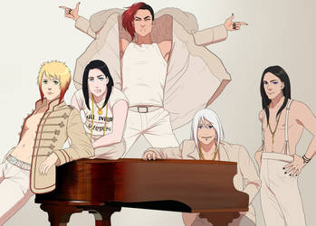Draw the squad like this! by Rorelse