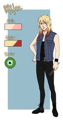 Ref Sheet - Mike by Rorelse