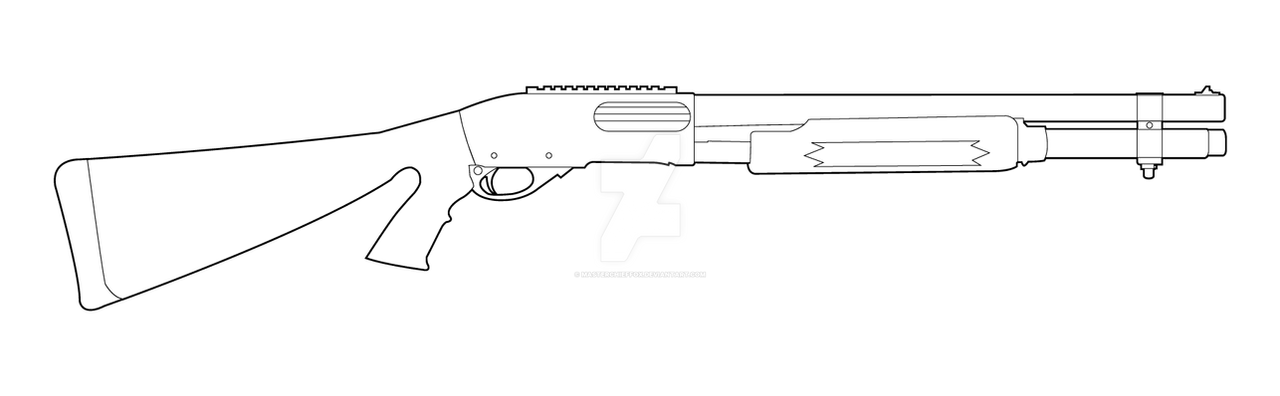 How to draw shotguns