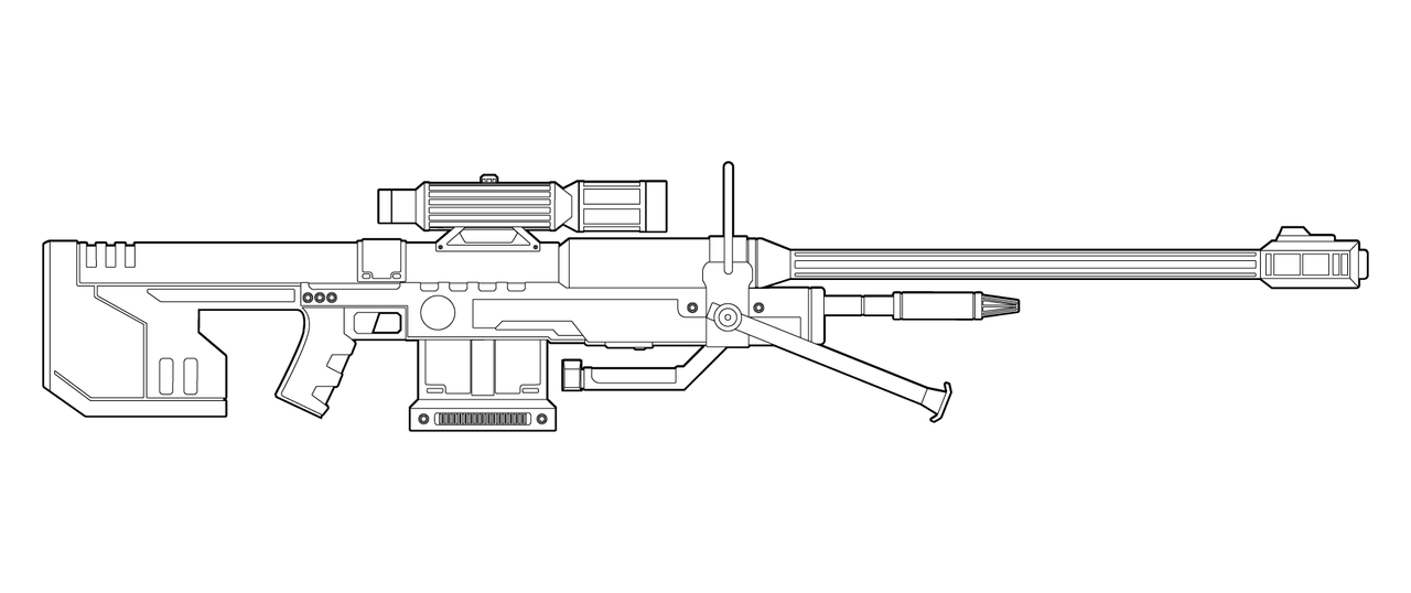 Weapon Coloring Pages