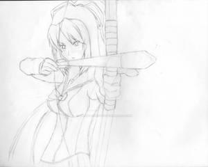 HOTD OC Archer Girl