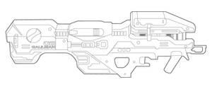 Halo Spartan Laser
