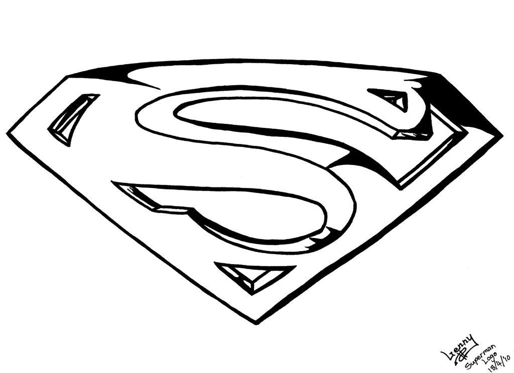 How to draw logo superman for Draw my logo