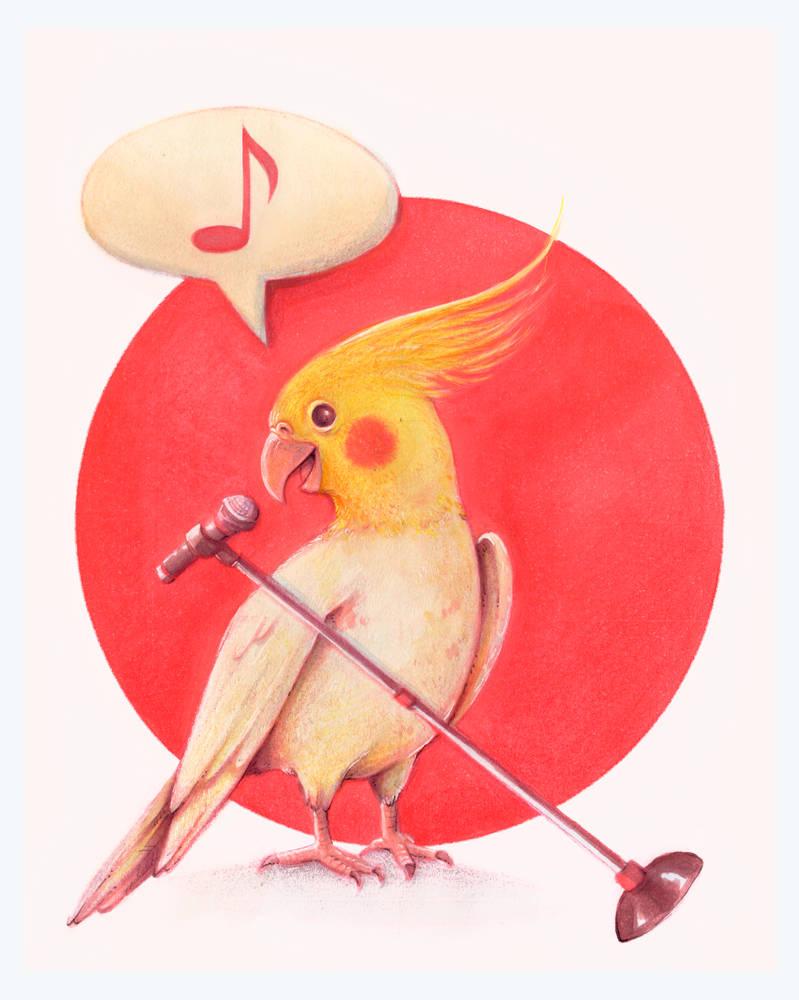 A Singing Birb