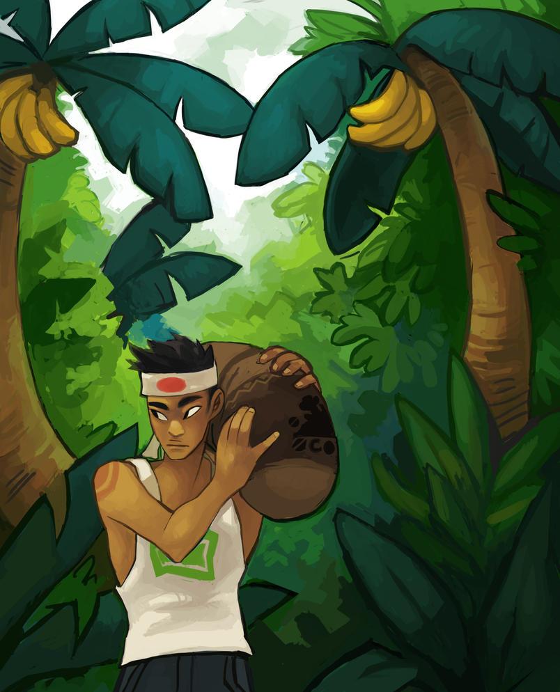 Banana Trees by turnipsss