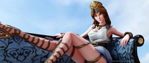 Goddess Lian really widescreen by Abrakabadarka