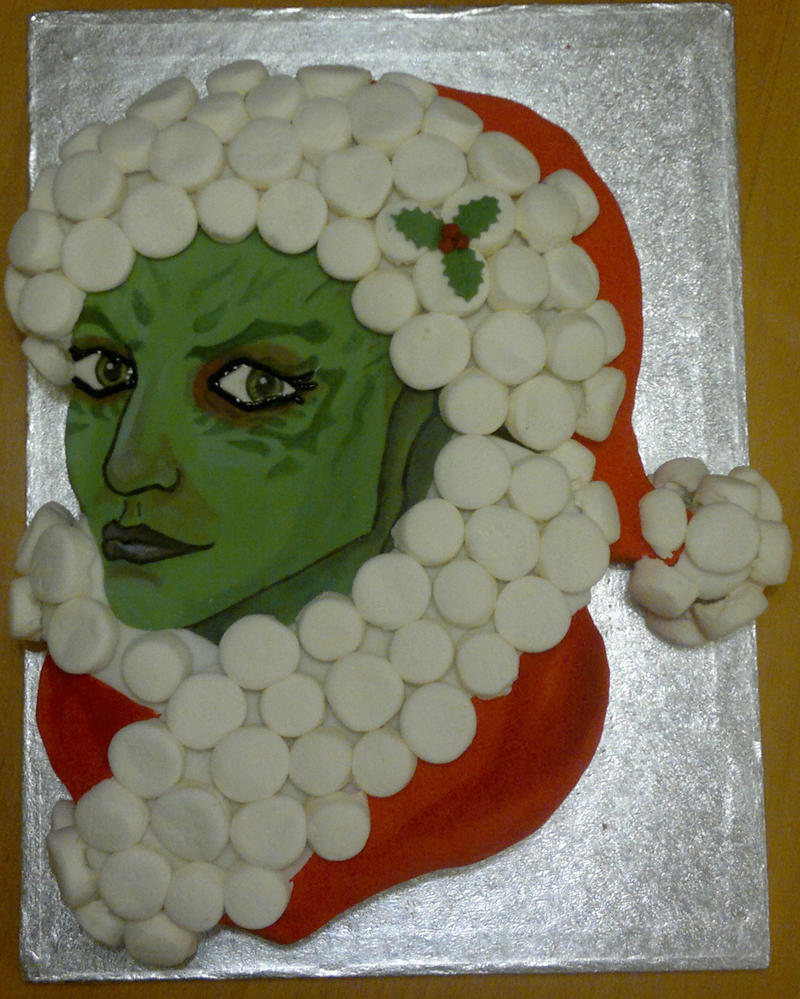 Shiala Christmas Cake by BeanieBat