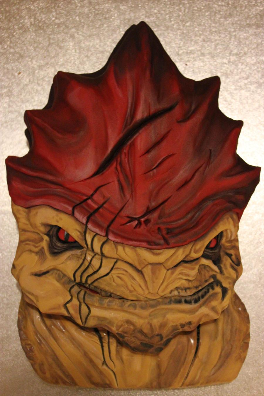 Wrex Cake by BeanieBat
