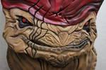 Wrex Cake: Face detail
