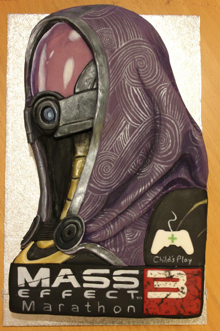 Tali Cake for MEM3 by BeanieBat