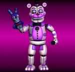 Stylised Funtime Freddy