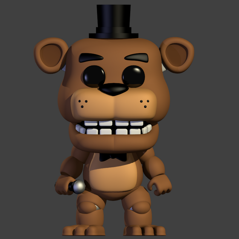 Freddy POP Vinyl (V4) by yoshipower879