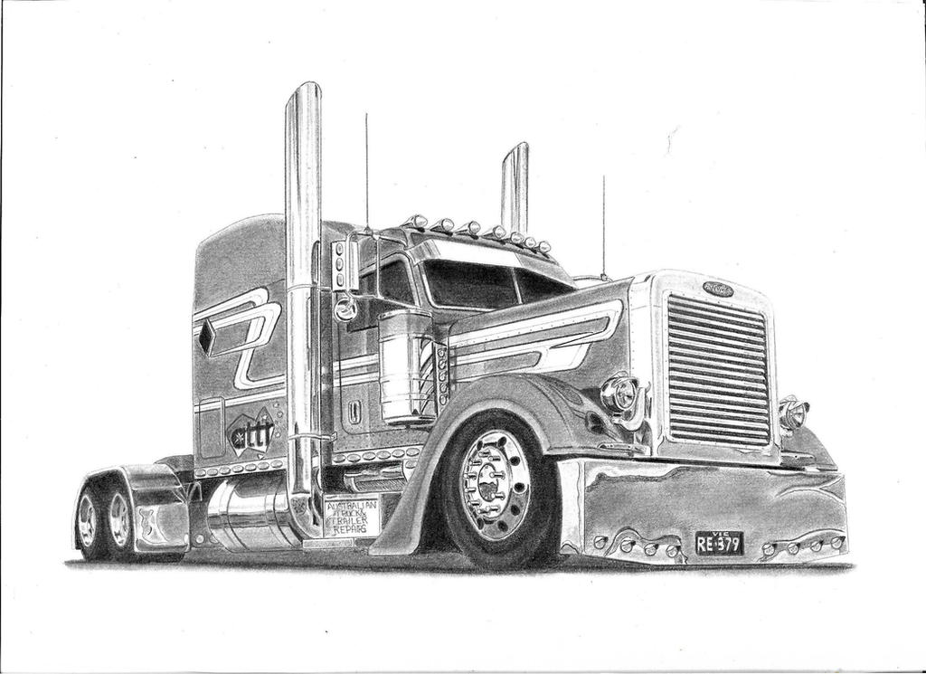 peterbilt 379 custom by e1969r on deviantart