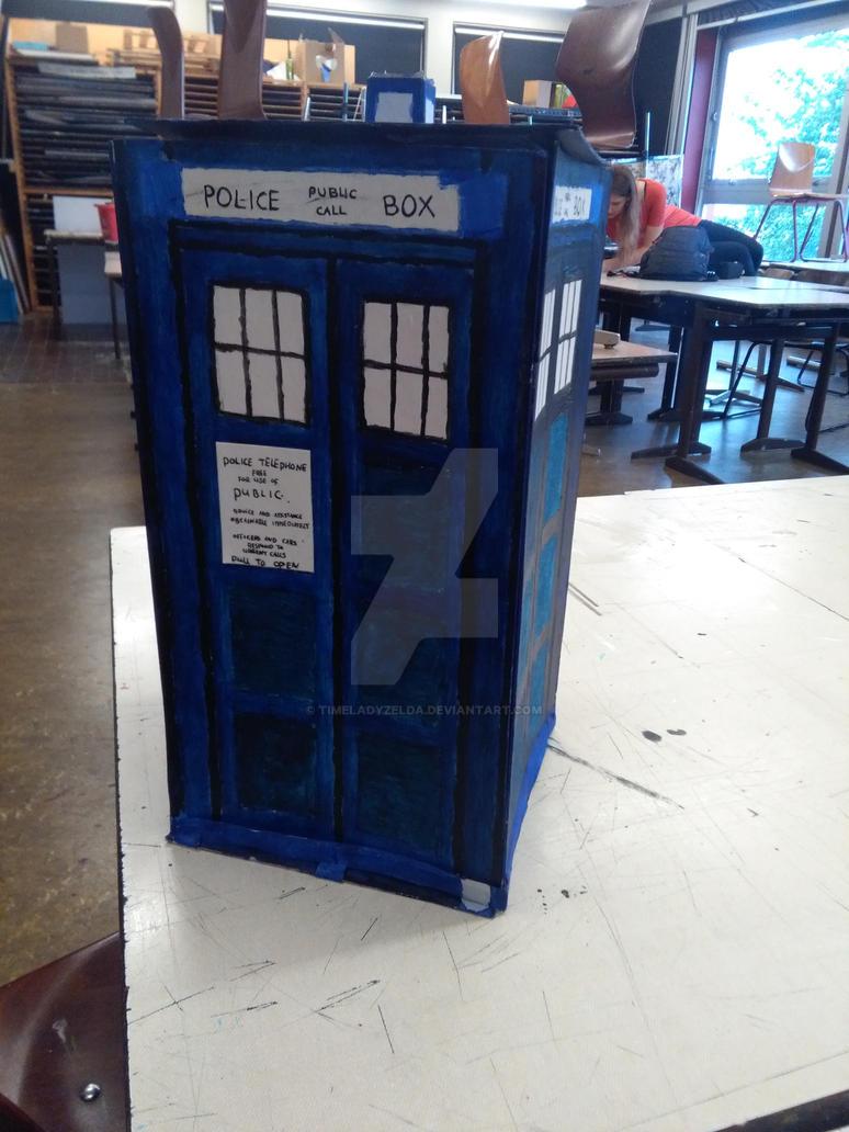 TARDIS by TimeladyZelda