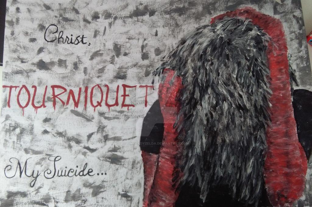 Lyrics and Image part 2 - Tourniquet by TimeladyZelda
