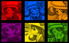 PKMN Lyra flashing avatar banner by PPLyra
