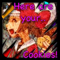 PKMN Lyra give cookiez by PPLyra