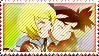 Mai Otome Nina and Eristin stamp by Alien-Snowflake